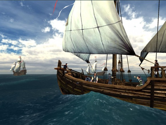 Christopher Columbus berlayar