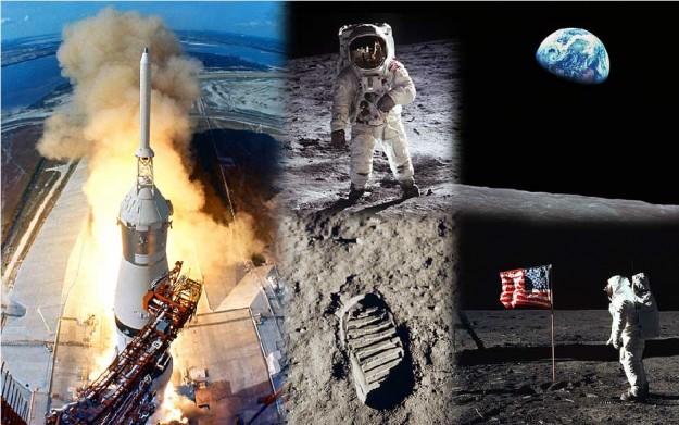 Pendaratan Apollo 11 di Bulan