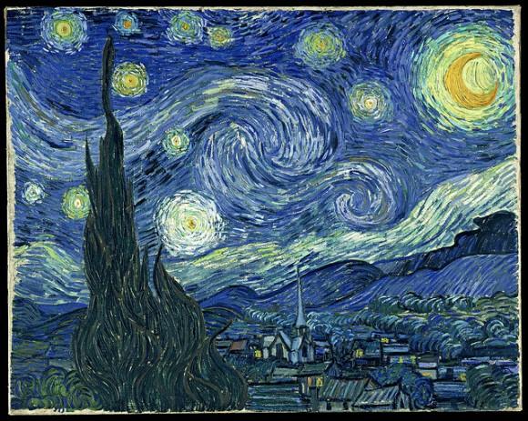 Starry Night oleh Vincent Van Gogh