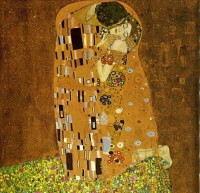 The Kiss oleh Gustav Klimt