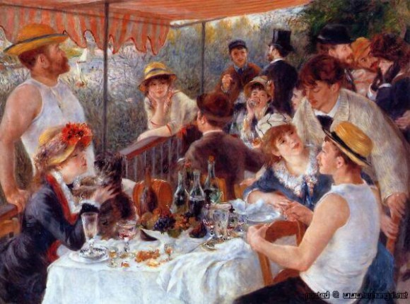 Luncheon of the Boating Party oleh Pierre Auguste Renoir