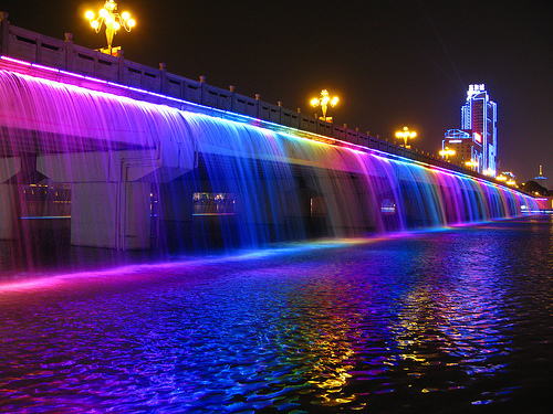 Banpo Bridge (Korea Selatan): The Fountain Bridge