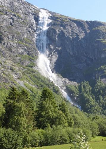 Mongefossen, Norwegia