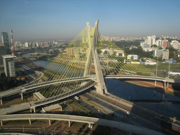 .Oliveira Bridge (Brasil): Pertama di Dunia berbentuk X