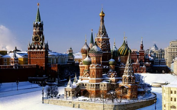 St Basil's Cathedral pada Red Square