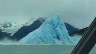 Video Rekaman Gunung Es Terbalik Di Taman Nasional Los Glaciares