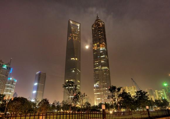 Menara Shanghai (632 m)