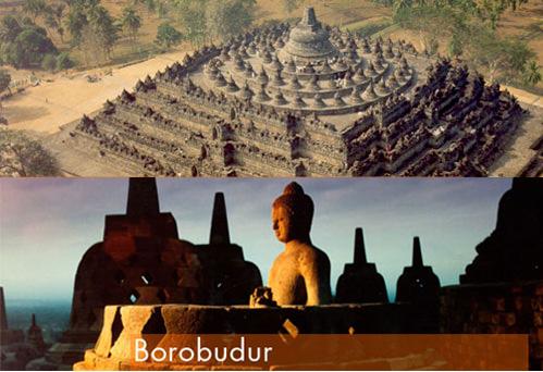Menurut National Geographic, bentuk Candi Borobudur adalah piramid