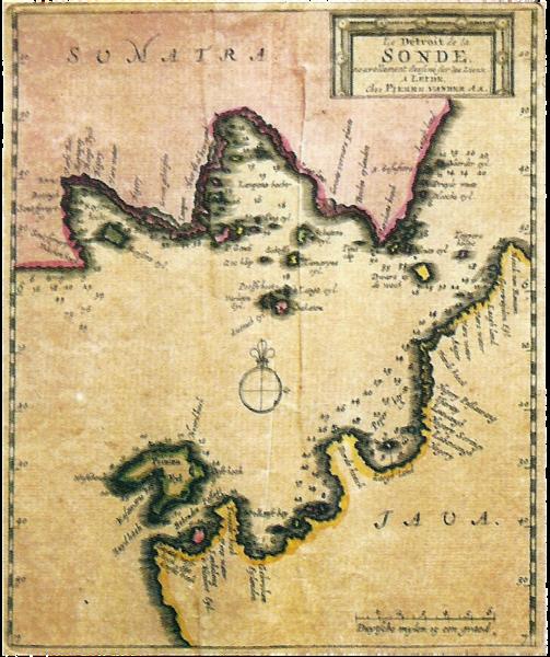 Peta sunda tahun 1729