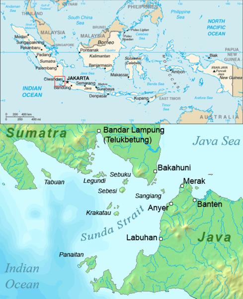 Peta sunda tahun 2006