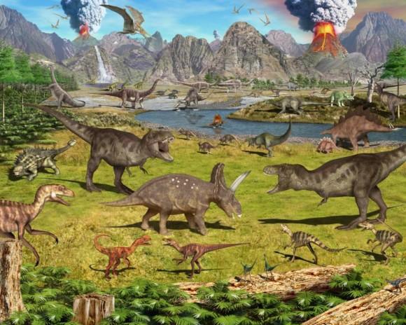 """kuburan masal"" dinosaurus"