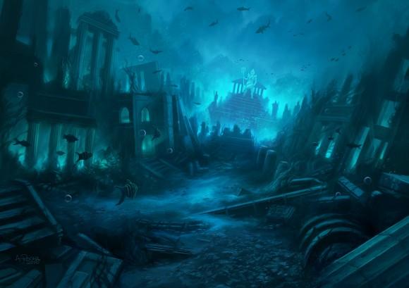 Atlantis itu tenggelam tidak sekaligus, tetapi perlahan-lahan