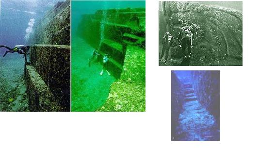 Bangunan bawah laut di Cuba (3D scan bawah laut)