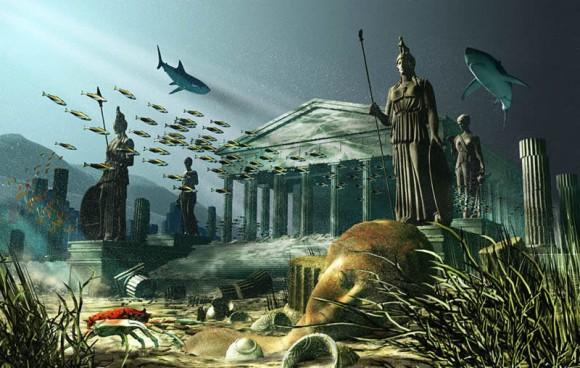 Benarkah Benua Atlantis Tenggelam di Laut Jawa?