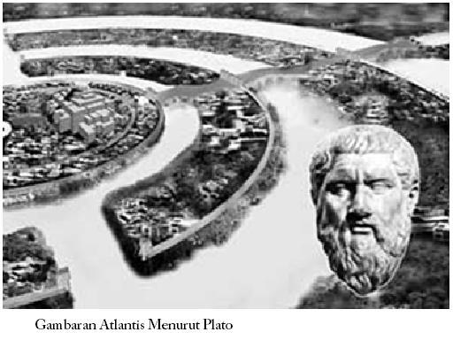 Catatan Plato mengenai atlantis