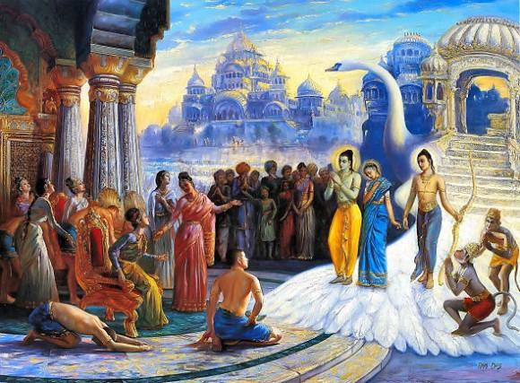 Epos Ramayana (7000 tahun lalu) dan Epos Mahabarata (5000 tahun lalu)