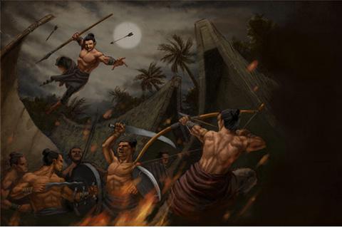 para leluhur bangsa dalam melakukan perjuangan kepahlawanannya