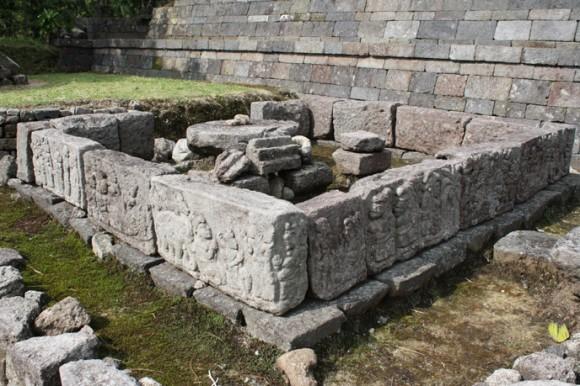 relief sudhamala di Candi cetho