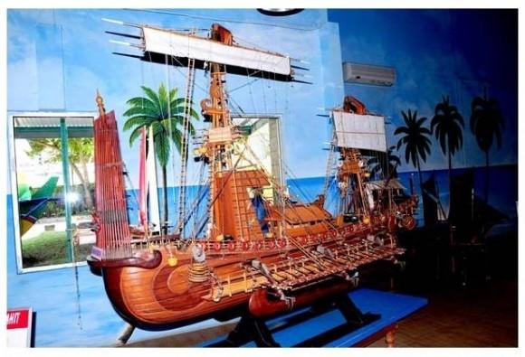 Kapal Jung Jawa: Teknologi kapal raksasa