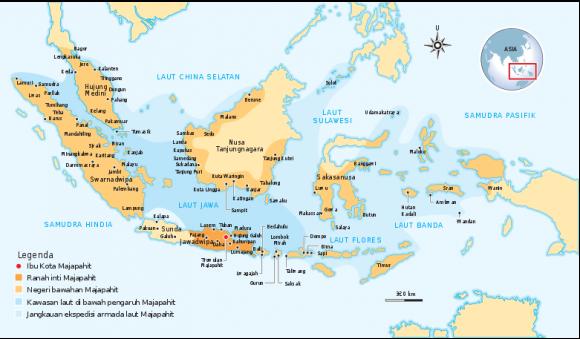 Pada zaman Kerajaan Majapahit sejumlah daerah di Papua sudah termasuk wilayah majapahit