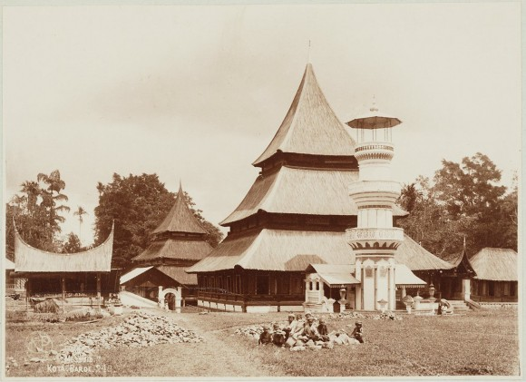 Gambar Masjid Minang.