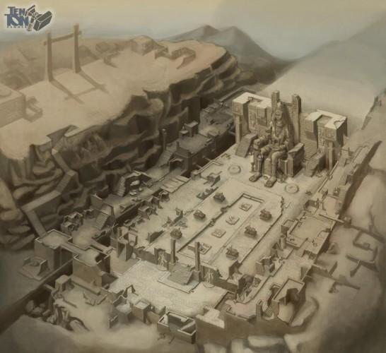 Arsitektur dan prasarana kota Mohenjo-daro