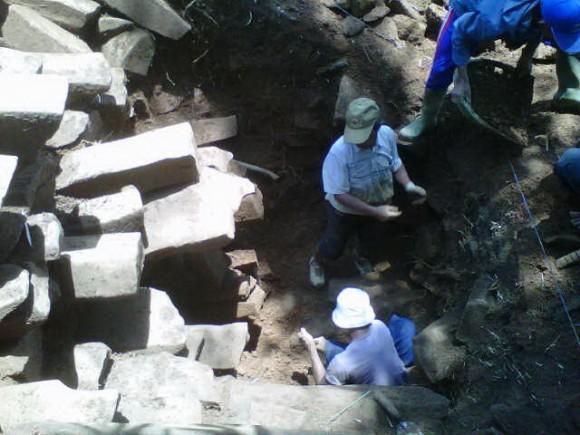Ada yang baru dari hasil eskavasi di Gunung Padang, Cianjur, Jawa Barat.