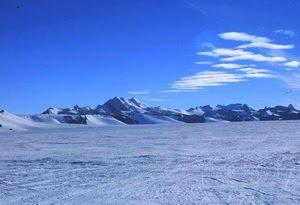 Gurun terbesar  di Antartika
