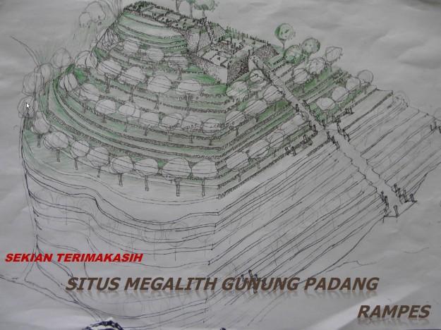 Situs Gunung Padang Dibangun Dalam Harmoni Geomantik