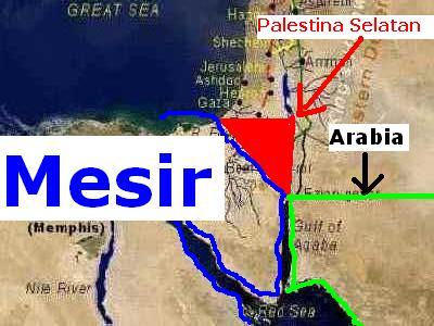 Perjalanan Nabi Ibrahim dari Mesir ke Selatan