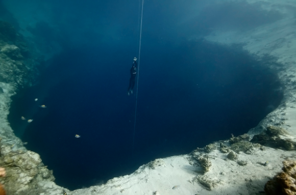 Dean's Blue Hole, Kepulauan Bahama
