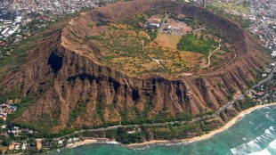 Diamond Head, Hawaii, USA