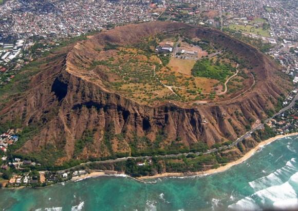 Diamond Head, Hawaii, USA