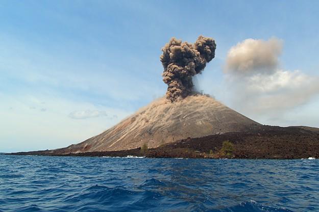 Gunung Anak Krakatau Status Waspada (Level II)