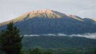 Gunung Marapi di Bukittinggi, Sumatera Barat