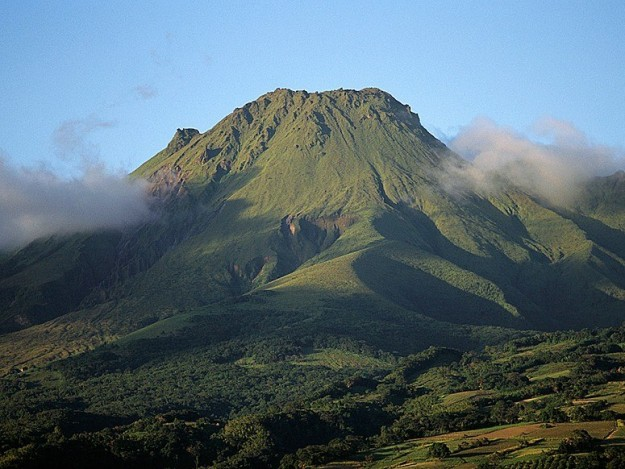 Gunung Pelee, Martinique