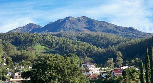 Gunung Wilis di Jawa Timur