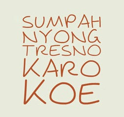 Kata Cinta dalam Bahasa Jawa