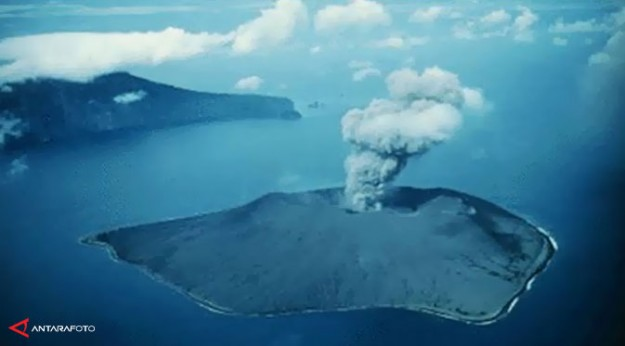 Letusan Krakatau, Indonesia, 1883
