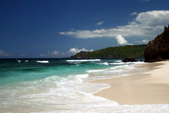 Pantai selatan Lombok
