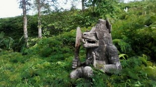 Patung Lembu Suro di Kediri