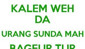 Puisi Bahasa Sunda Tentang Alam