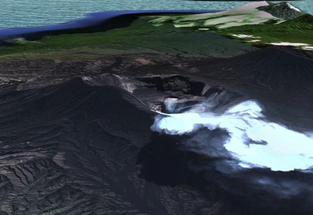 Gunung berapi Ambrym, Republik Vanuatu,