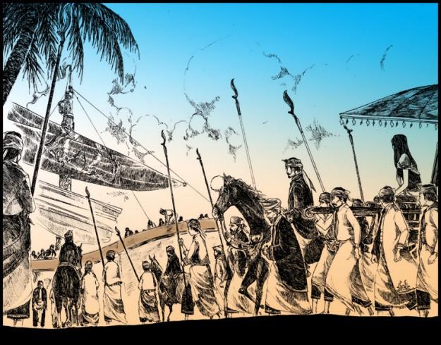 Raden Wijaya Menuju Madura