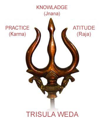 Senjata Trisula Weda