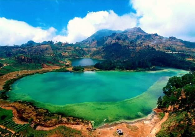 Telaga Warna di Bogor