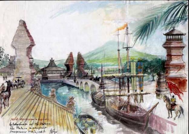 keberadaan daerah Majapahi