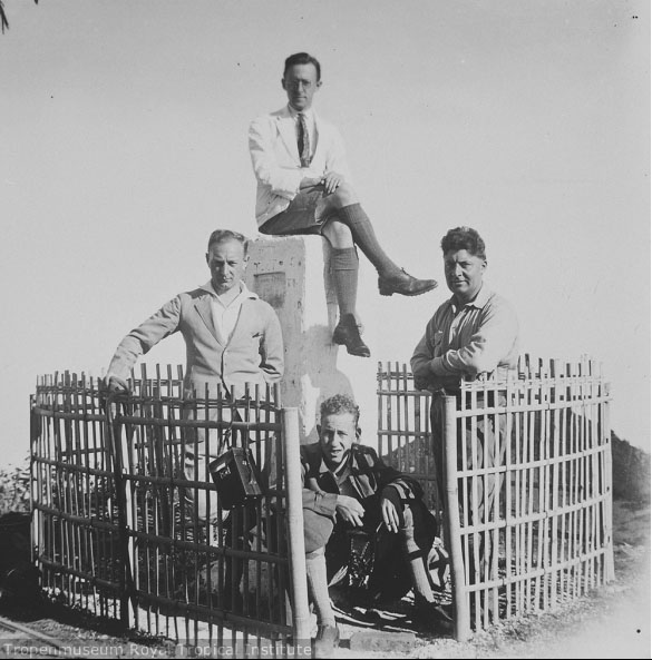 puncak Lawu pada tahun 1930