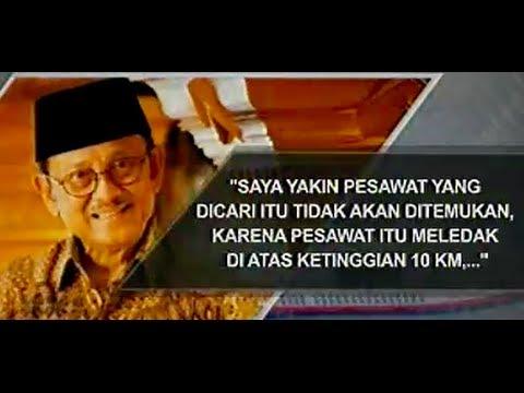 Analisis Habibie tentang Jatuhnya Pesawat Malaysia Airlines MH370