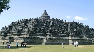 Candi Borobudur di Magelang, Jawa Tengah